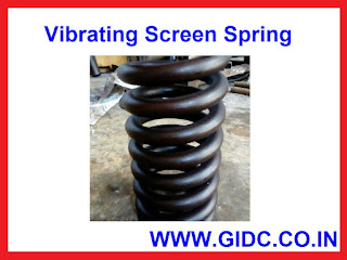 Vibrating Screen Spring Manufacturer in GIDC