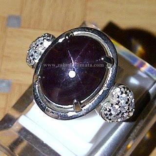 Cincin Lady Batu Garnet Star - ZP 762