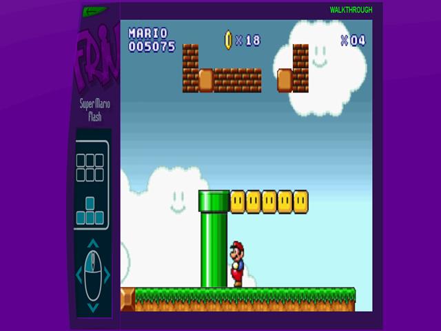 4 Joguinhos para passar o tempo - Super Mario Flash