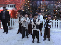 christmas festival chimney sweeps performance