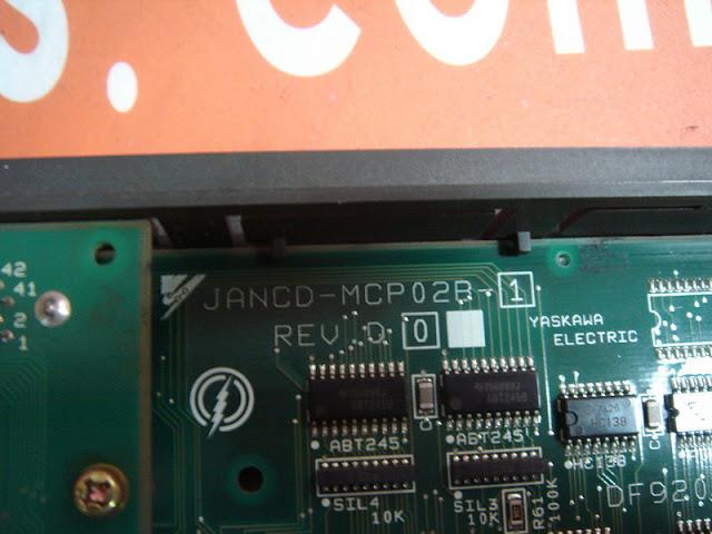 YASKAWA/YASNAC JANCD-MCP02B-1 CNC BOARD MOTION CONTROL PCB MOTOMAN MRC 3