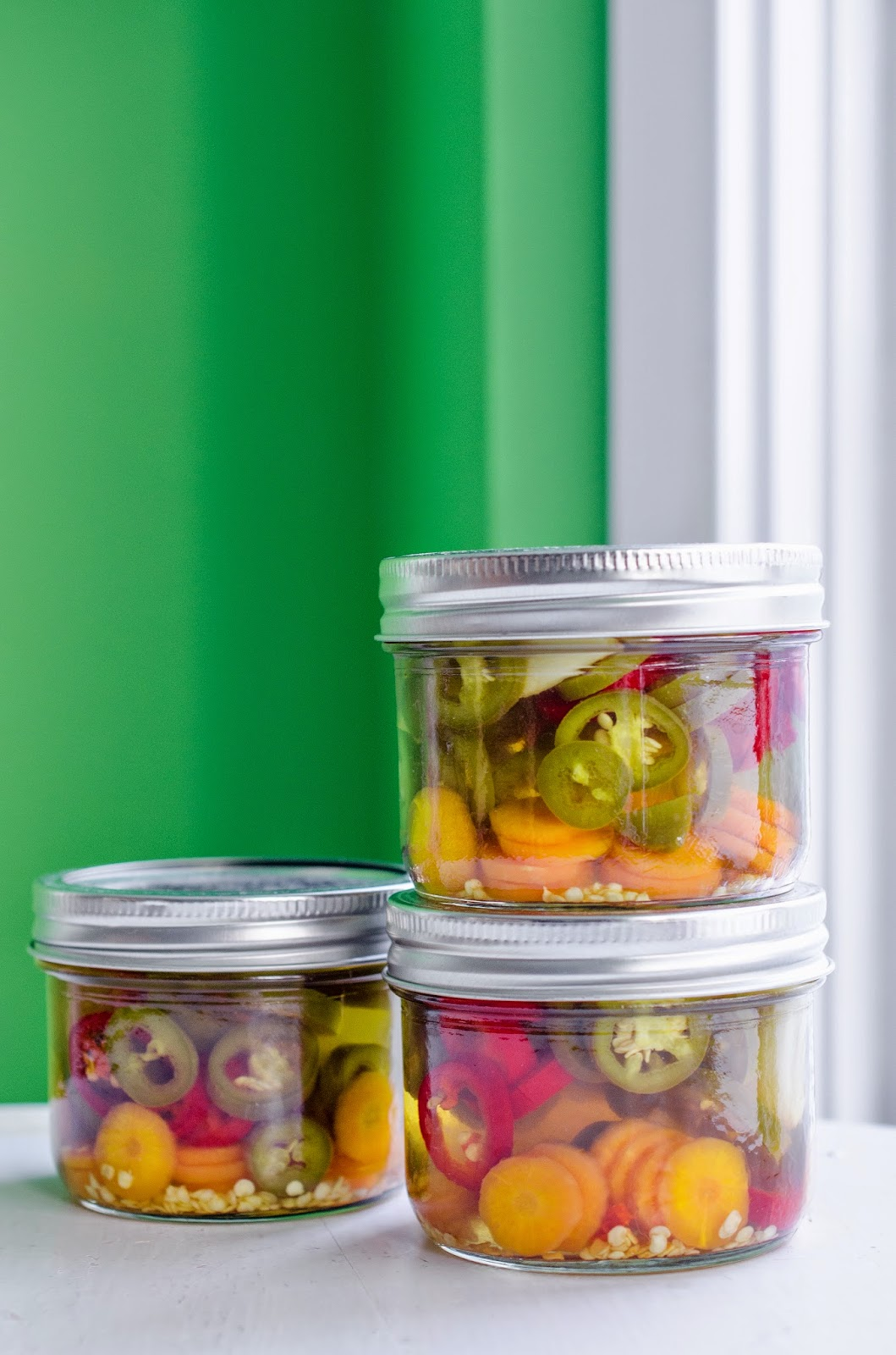 Mexican Style Jalapeño Pickles ~ The Tiffin Box