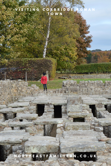 A lovely pub lunch & a trip to Corbridge Roman Town with kids
