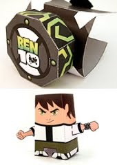 official ben 10 papercraft tektonten papercraft
