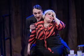Martins Smaukstelis, Claire Barnett-Jones - Rimsky Korsakov May Night - Royal Academy Opera - photo Robert Workman