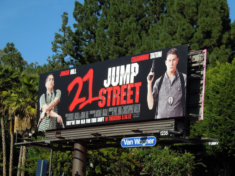 21 Jump Street movie billboard
