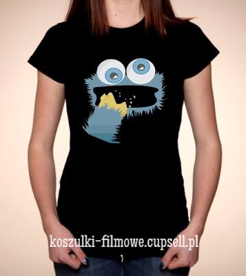 koszulka ciasteczkowy potwór