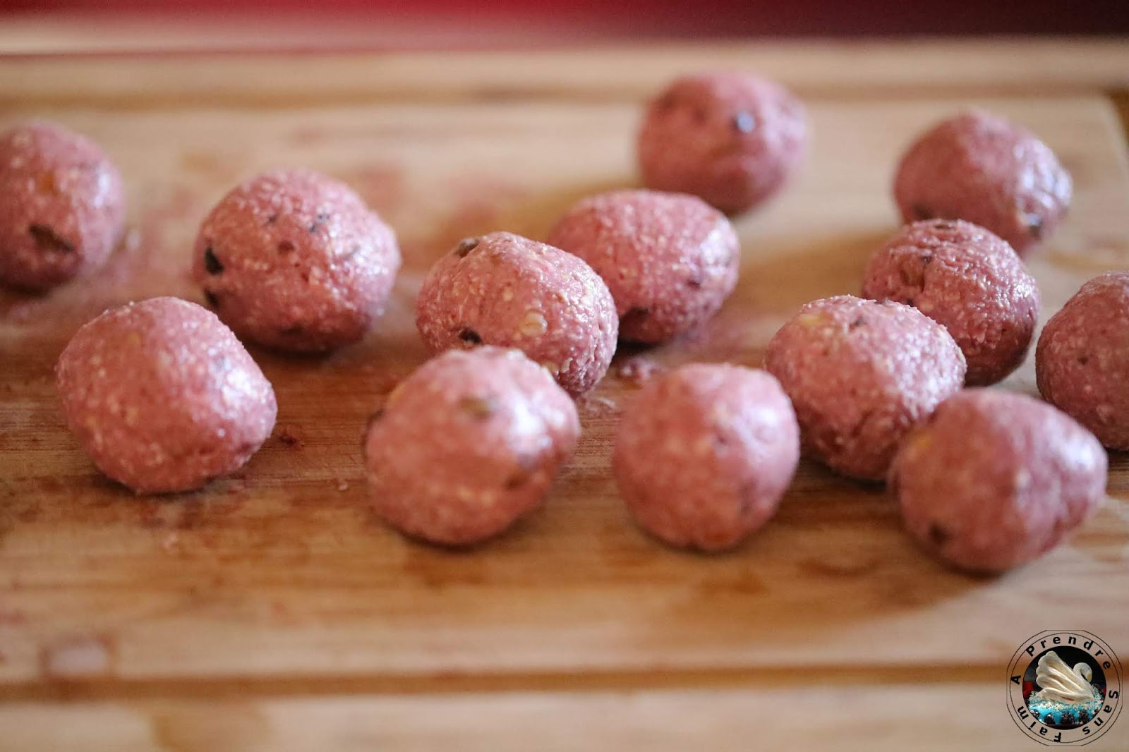 Energy balls framboises coco