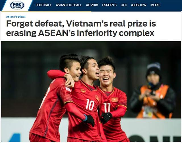 """Vinh danh U23 Việt Nam: Báo quốc tế choáng, dự báo """"vùng vẫy biển lớn"""" 3"""