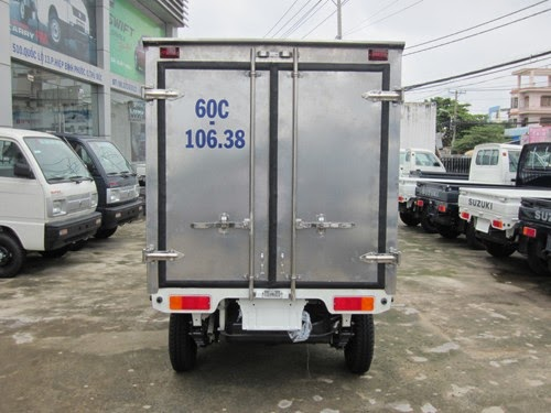 suzuki super carry Truck thùng inox kín