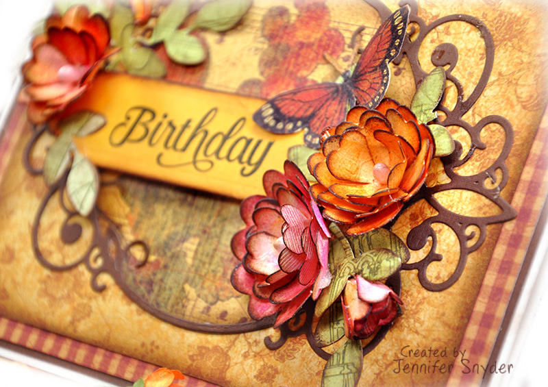 Vintage Flowers Birthday Cards ~ Birthday flower card messages infocard