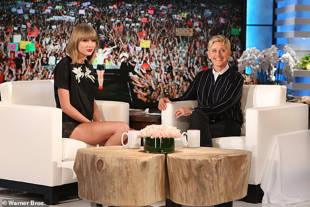 Taylor Swift will appear on The Ellen DeGeneres Show in rare sit-down TV interview