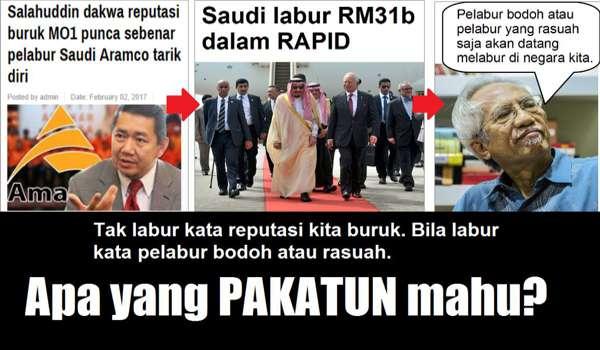 USD 7 Bilion : Mimpi Ngeri Buat Mahathir