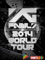 2NE1 YG FAMILY WORLD TOUR 2014 POWER