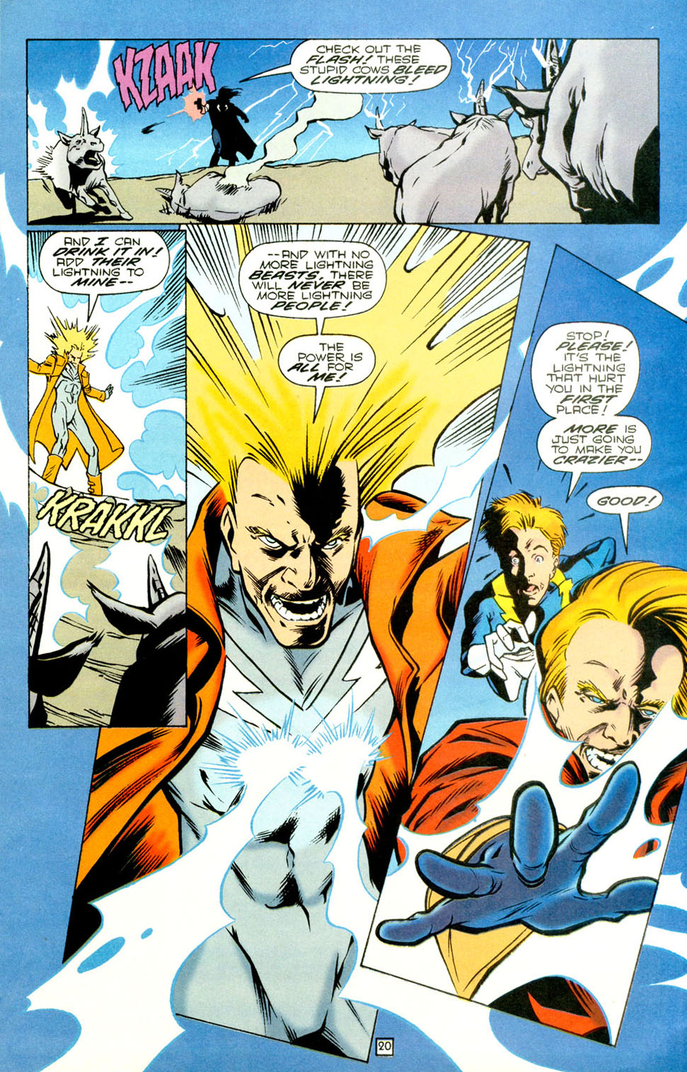 Legion of Super-Heroes (1989) 73 Page 20