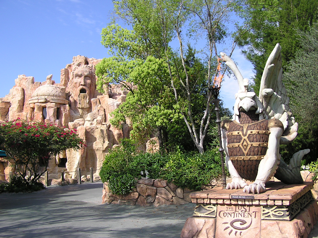 Lost Continent no Islands of Adventure em Orlando