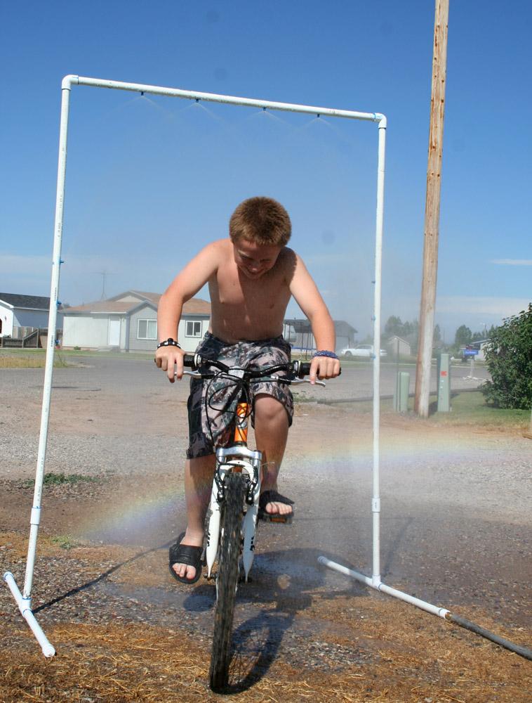 Capital B: PVC Bike Mister!
