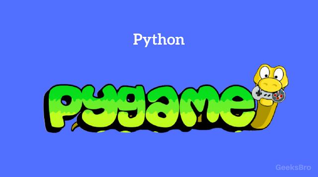 game development pygame