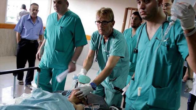 Israel prohíbe entrada de gas de anestesia a hospitales de Gaza
