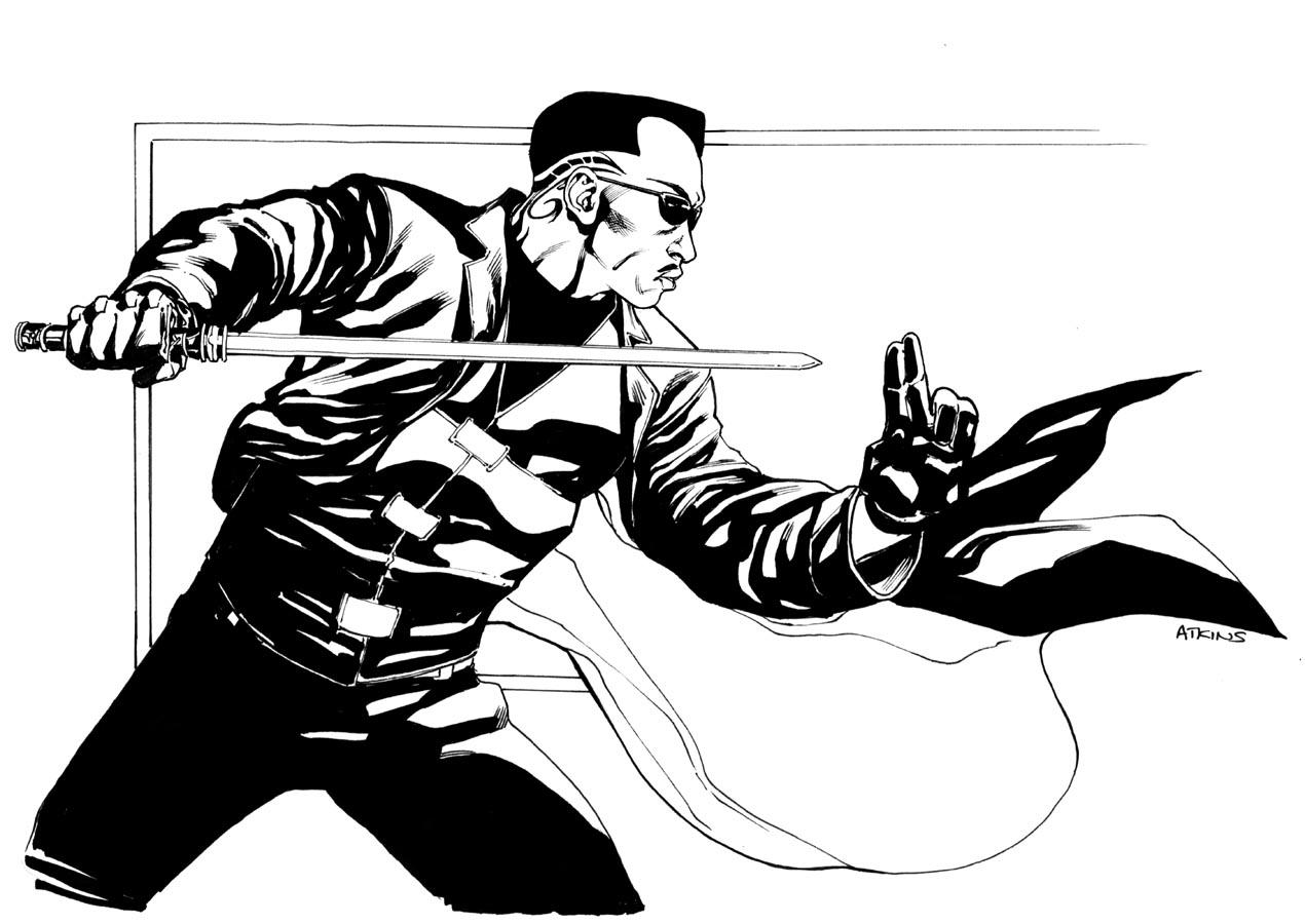 Robert Atkins Art: Blade
