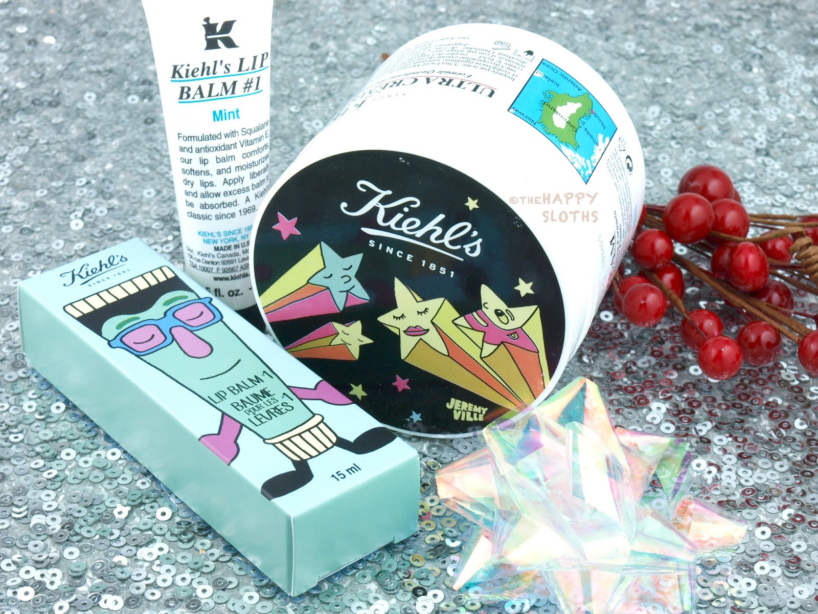Kiehl's Jeremyville Ultra Facial Cream and Lip Balm