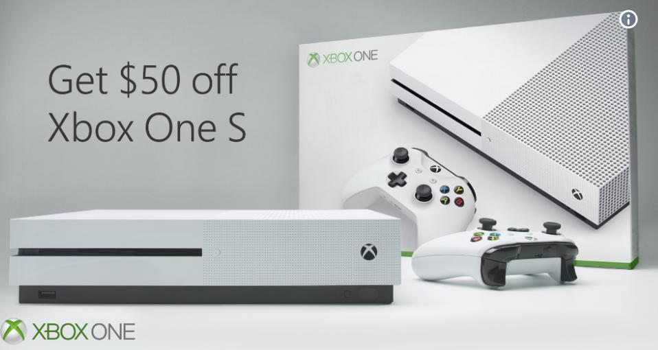 Xbox One S 50 dólares más barata desde el 11 de junio