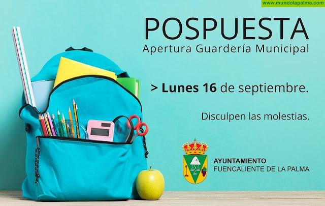 Fuencaliente pospone la fecha de apertura de la guardería municipal