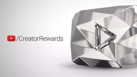 درع اليوتيوب جائزة تشجيعية