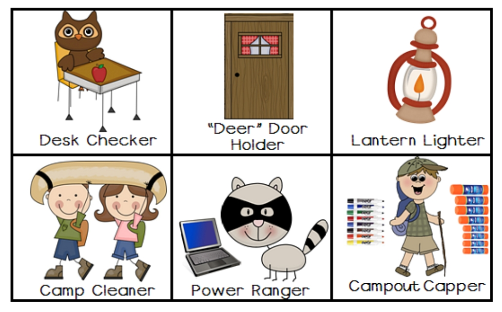 kindergarten clipart classroom jobs - photo #16
