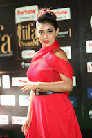 Apoorva in a Stunning Tight Leg Split Sleeveless Red Gown at IIFA Utsavam Awards 36.JPG