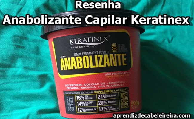 Resenha Anabolizante Capilar Keratinex