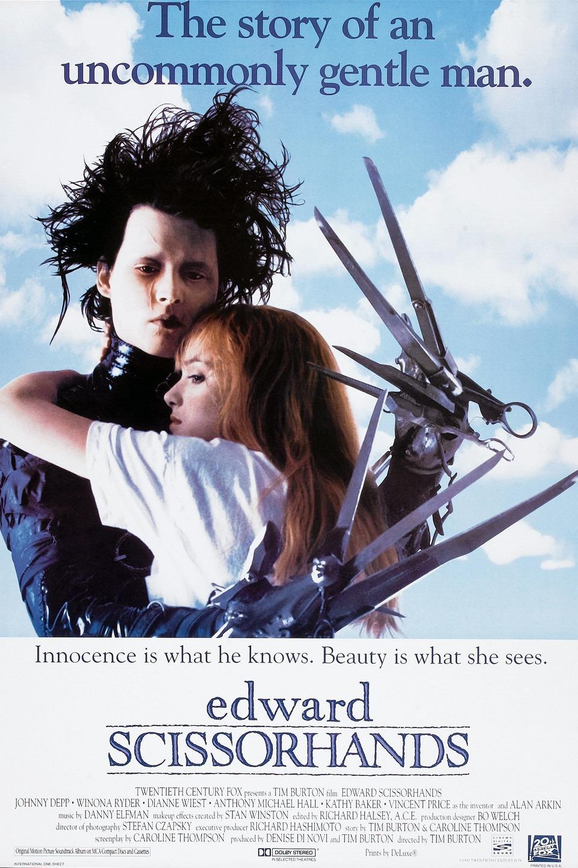Nonton Film Edward Scissorhands (1990)