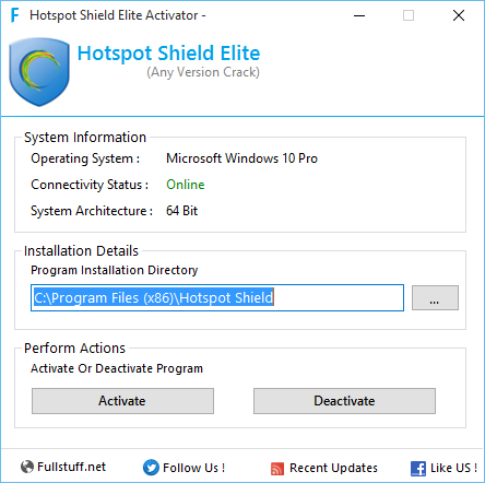Hotspot Shield Elite 5.20.17 crack