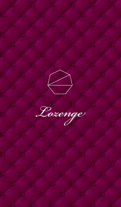 Lozenge-Rose Red