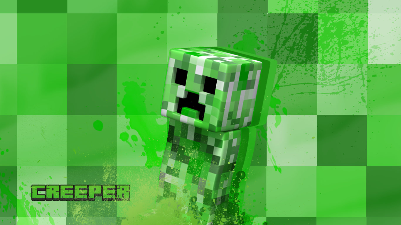 PZ C: creeper minecraft