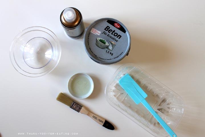 Beton Schalen DIY Anleitung