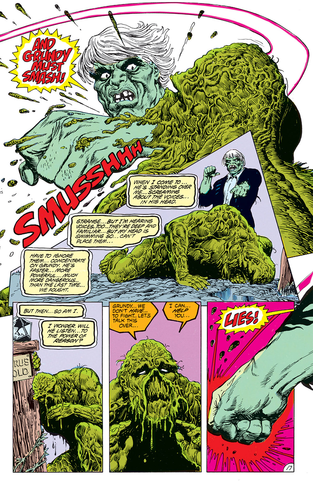 Swamp Thing (1982) Issue #67 #75 - English 19