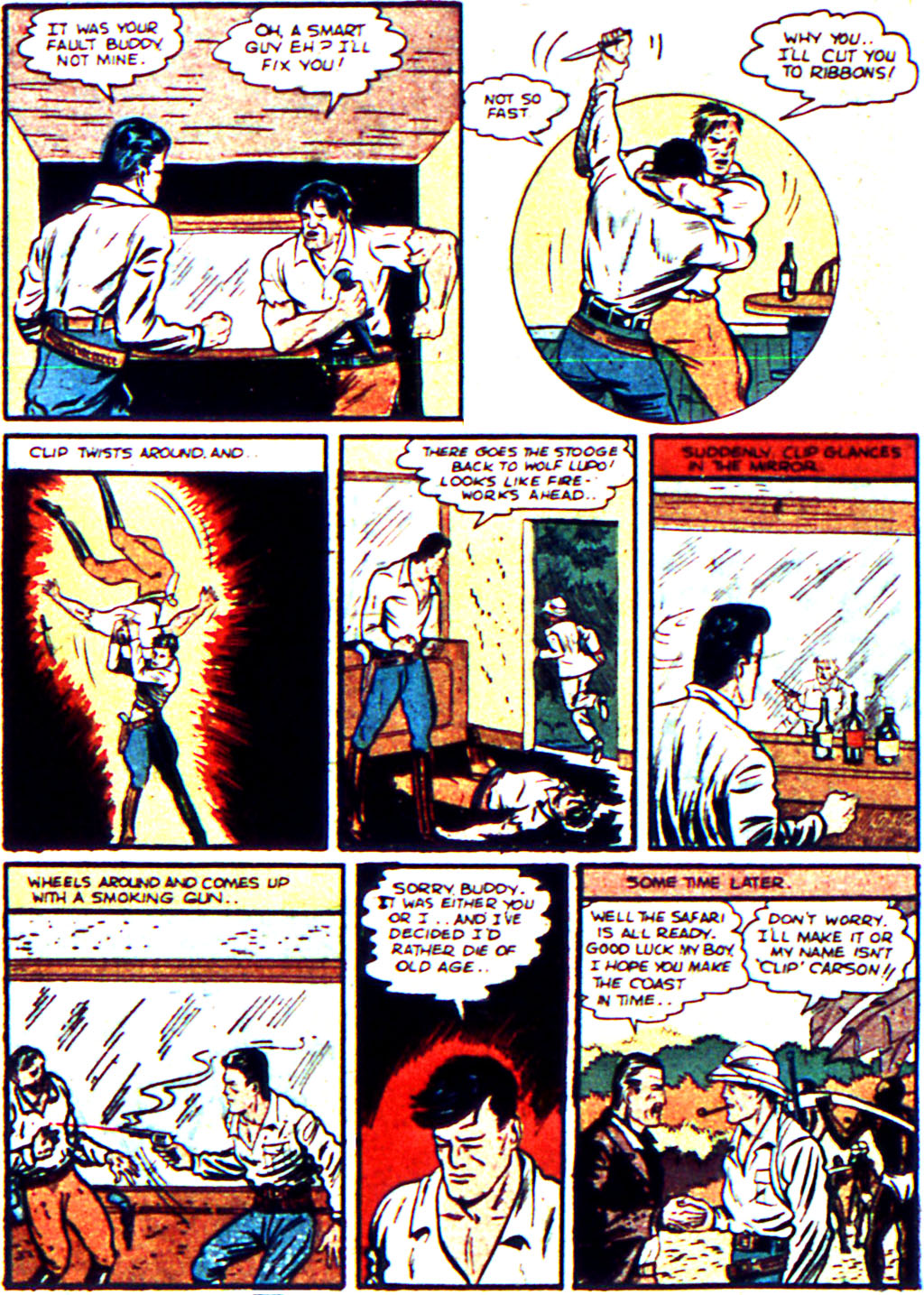 Read online Action Comics (1938) comic -  Issue #19 - 30