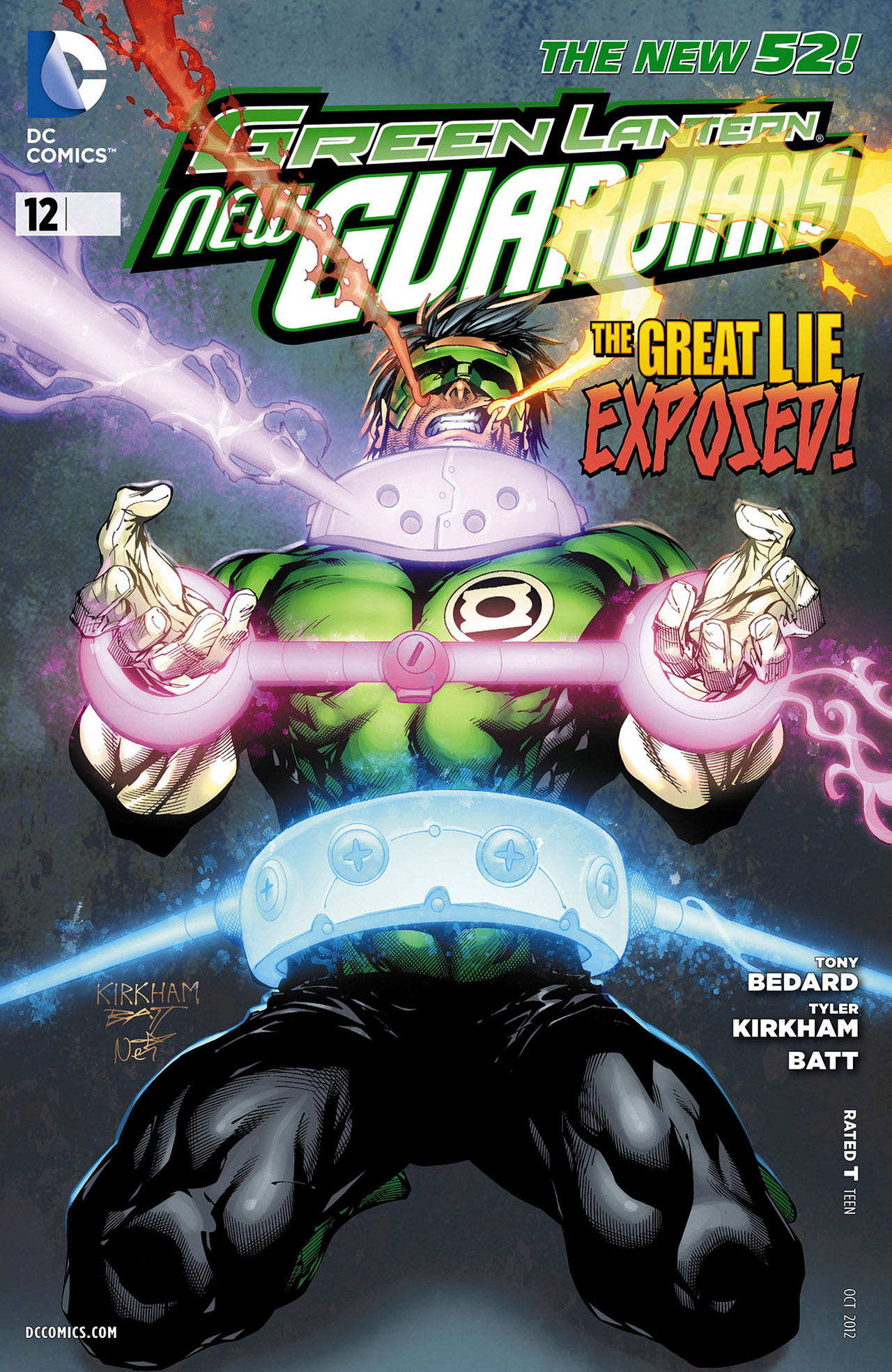 Green Lantern - New Guardians issue 12 - Page 1