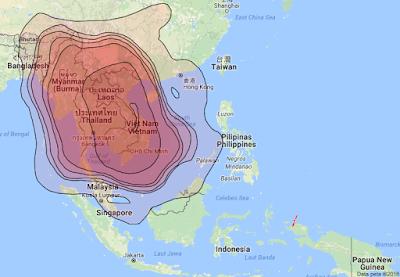 Satelit Vinasat 1 132.0°E KUBand