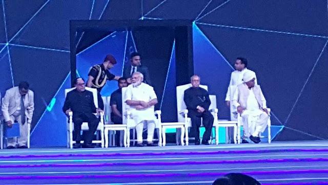Motivational Celebration Sanjeev Juneja with Dr Subhash Chandra