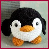 Pinguinito amigurumi