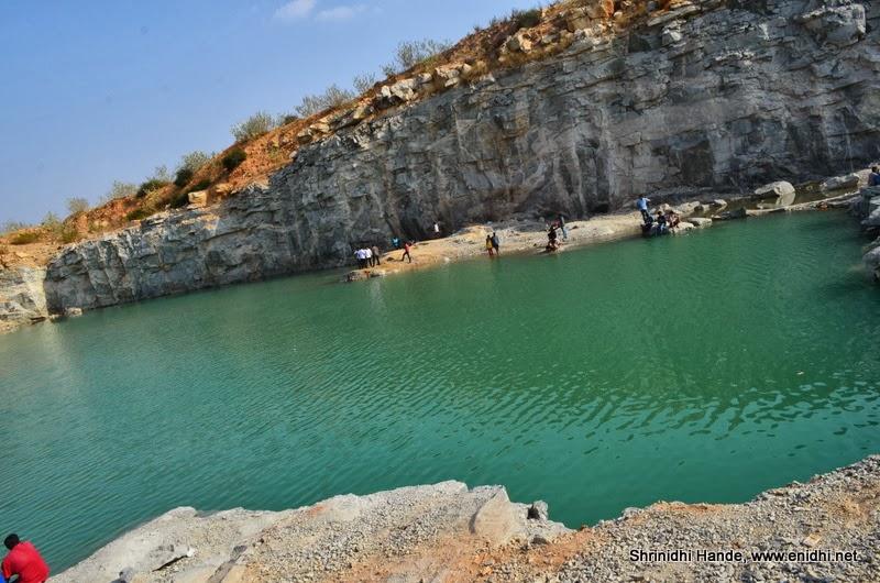 Scenic Kendatti quarry near Kolar, Karnataka - eNidhi India