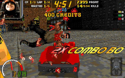 Pantallazo videojuego Carmageddon