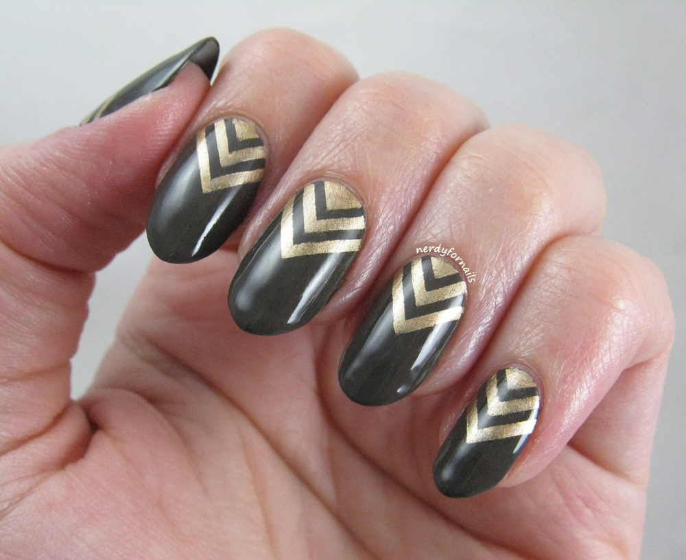 Nerdy for Nails: Seven Days of St Patrick\'s: Army Green and Gold ...