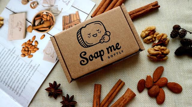 """Soap Me Softly """"Пряно - ореховое"""" мыло со скрабирующим эффектом"""