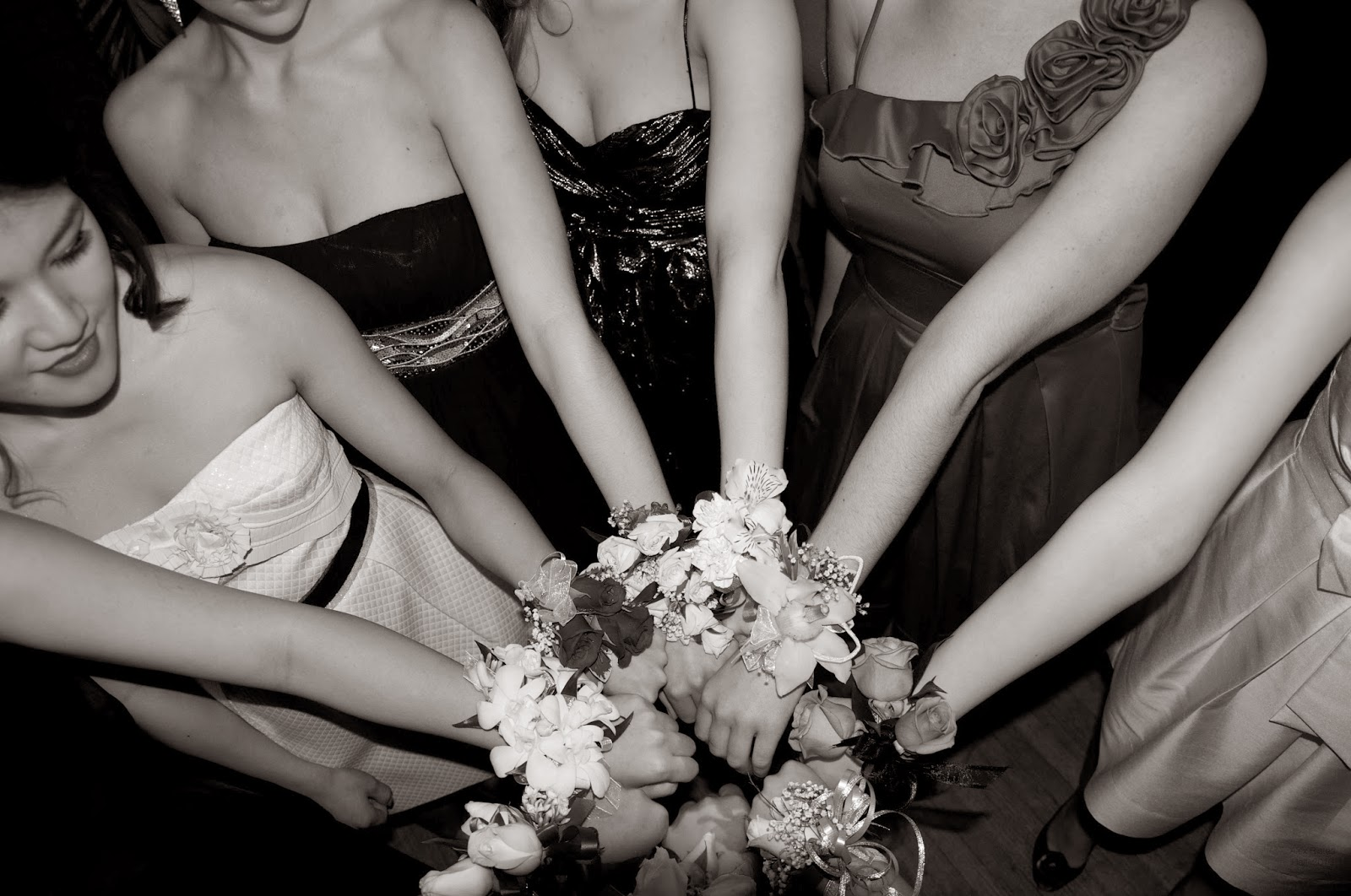 damas de honor y corsages
