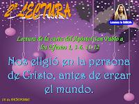 Resultado de imagen para Bendito sea Dios, Padre de nuestro Señor Jesucristo, que nos ha bendecido en la persona de Cristo