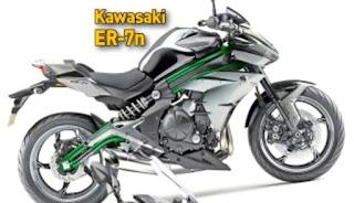 Kawasaki siapkan ER-7n untuk pasar Eropa