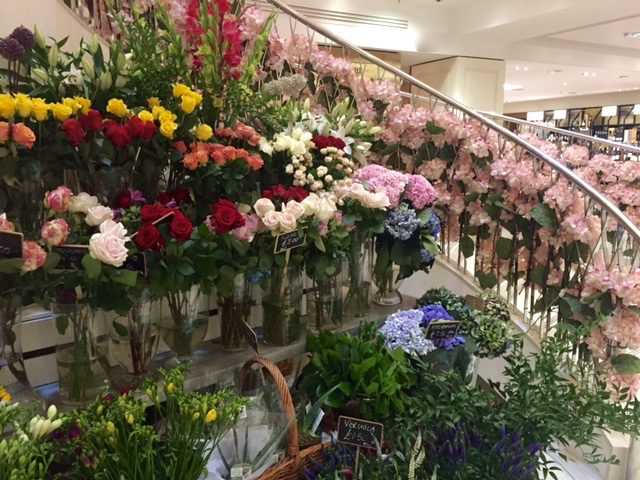 Flower shop stories one of my favourite stores is fortnum mason we took the lift to the fourth floor and then wandered down amongst the perfumes hats china stationery and sciox Gallery